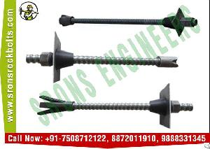 drilling tunnel rock bolts