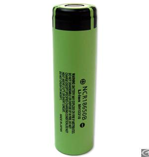 newly panasonic ncr18650b battery cell 3 7v 3400mah
