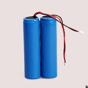 Perma Battery Packs 18650 3.7v 2200mah Li-ion Battery Pack With Pcb And Connector