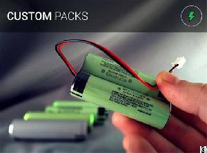 perma battery packs customized panasonic ncr18650b connector