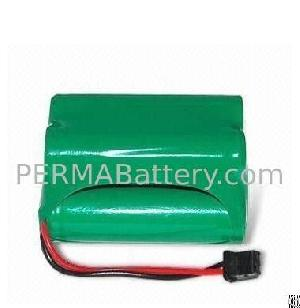 skanner battery pack nimh aa 4 8v 2200mah connector