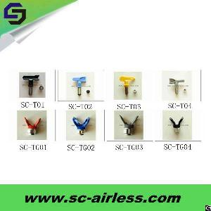 Oem Services Grey / Black / Yellow / Blue Airless Paint Sprayer Tip / Spray Tip / Spray Nozzle