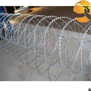 blade barbed wire razor fence