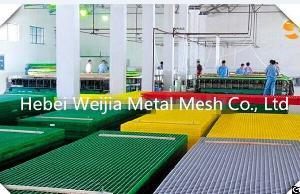 fiberglass grating platform walkway drain cover chemical non corrosion