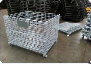 foldable metal cage wire storage