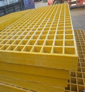 glass fiber reinforced plastic frp decking grating system