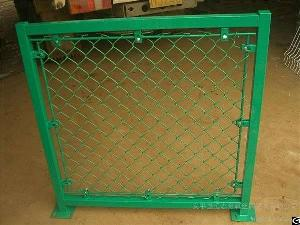powder coated wire mesh fence chain link