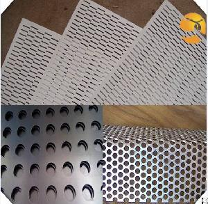 steel galvanized perforated metal mesh plate