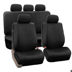 Premium Pu Leather Seat Covers Full Set