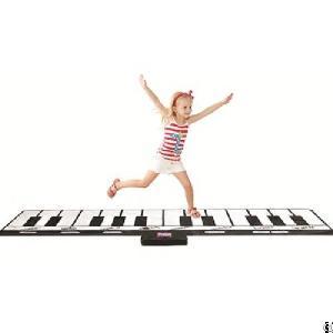 Gigantic Keyboard Playmat Slw968, Black And White