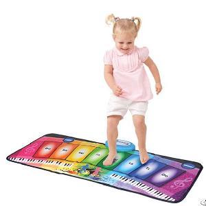Rainbow Piano Mat, 8 Keys, 8 Preprogrammed Tunes, 80 X 35 Cm