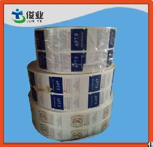 printing factory roll sticker paper