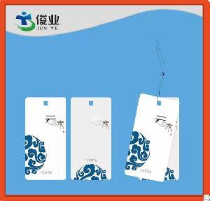 supplier fancy garment hangtag apparel