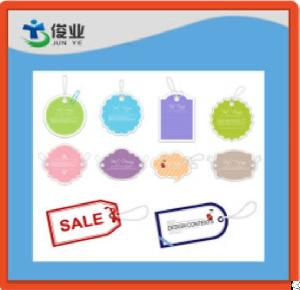 colorful hangtags bags