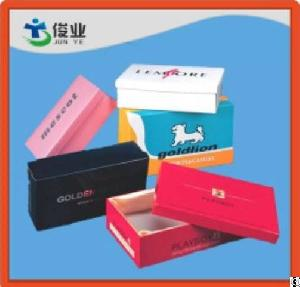 printed rigid cardboard clothes packing paper box