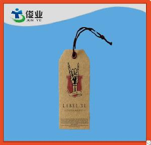 recycled paper garment hangtags clothing