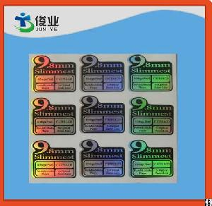 electronics adhesive laser labels digital media player
