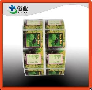 flavor juice bottle stickers grape