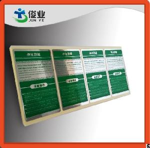 Glossy Silver Printed Stickers For Water Purified Equipments One