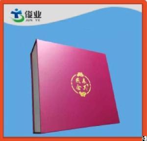 Pink Elegant Gifts Paper Printing Box