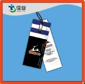 rectangular holes hang tags