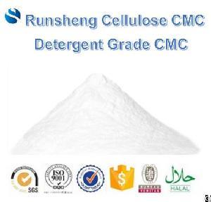 Detergent Grade Cmc / Sodium Carboxymethyl Cellulose For Detergent As Thickener