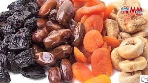 Dried Fruits, Turkish Delights