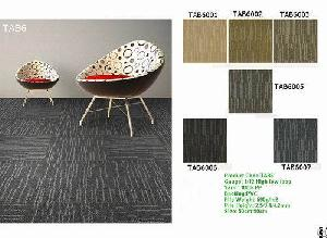 carpet tile modular pp nylon factory squares office
