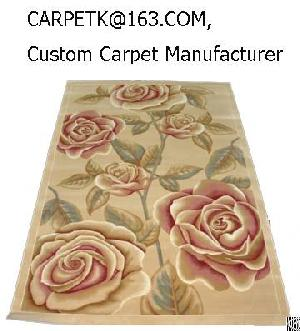 China Custom Hand Tufted Rugs Sculpted Oriental Area Wool Oem Odm Chinese  Manufacturers Factory