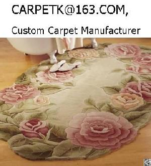 Chinese Wool Area Rugs Sculpted China Custom Hand Tufted Carpet Manufacturers Oem Odm Factory