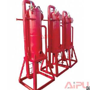 Aipu Solids Control Oilfield Liquid Gas Separator / Gas Baster For Drilling Fluids System