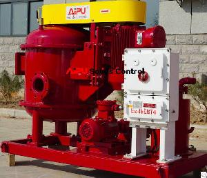 aipu solids oilfield apzcq vacuum degasser drilling mud cleaning system