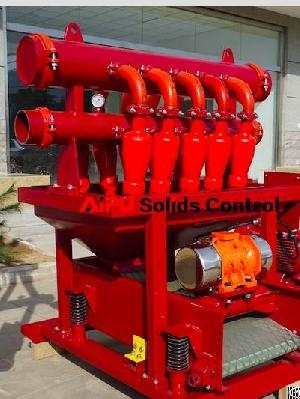 Apcn Desilter Separator For Oil And Gas Drilling Mud Solids Control