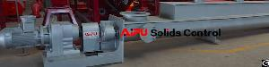 Auger Feeder Conveyor For Oilfield Waste Management
