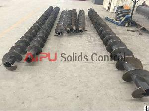 Auger Feeder Screw Conveyor For Drilling Waste Management