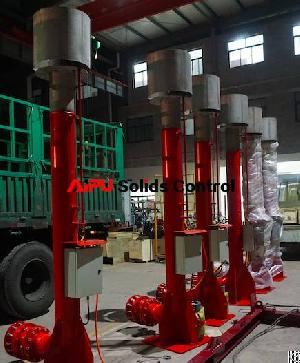 drilled gas flare ignitor oil drilling aipu solids control