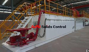 mud tanks drilling solids control system