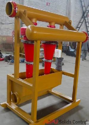 High Quality Oilfield Drilling Mud Hydrocyclone Desander For Sale At Aipu Solids