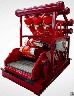 hydrocyclone separator desander desilter cleaner aipu solids