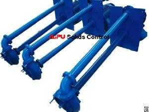 submersible slurry pump drilling mud solids control system