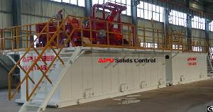Well Drilling Fluids Solids Control System For Oil And Gas Exploration