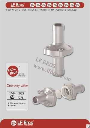 One Way Valve For Engine Preheater
