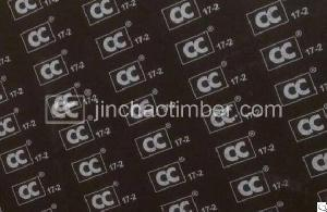 cc 17 2 film faced plywood