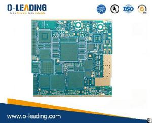 hdi pcb 18layers board thinkness 2 4mm gold plating 50u frequency