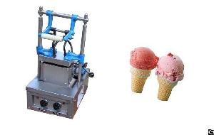 Wafer Cone Making Machine With 2 Mould