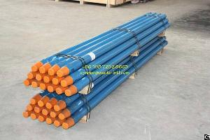Api Thread Drill Pipe Matched Up With High Air Pressure Drill Rig