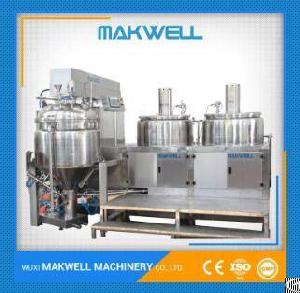 Mayonnaise Food Mixer Machine