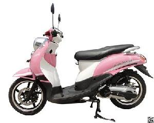 women 125cc pink petrol scooter