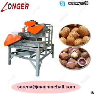 almond shelling machine apricot shell removing processing equipment