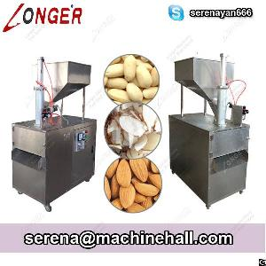 Almond Slicing Machine Almond Slice Cutting Machine Peanut Slicer